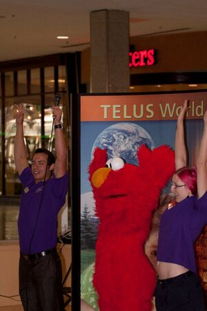 Elmo at West Edmonton Mall