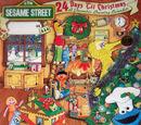 24 Days 'Til Christmas: A December Counting Calendar