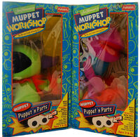 Muppet Workshop Puppet 'n Parts box fronts