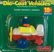 1998 cookie monster's airplane