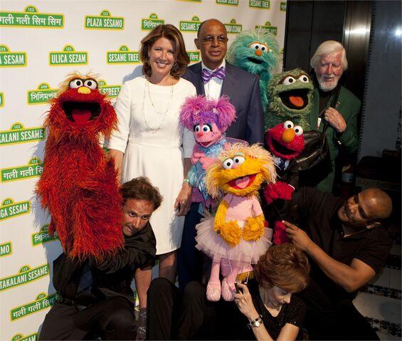 File:2012 Sesame Gala H. Melvin Ming and Sherrie Westin.jpg