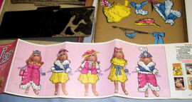 Colorforms dress up piggy 2