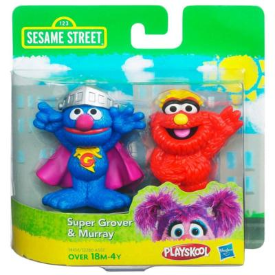 File:HasbroPlayskool-SesameStreet-2Pack-SuperGrover&Murray.jpg