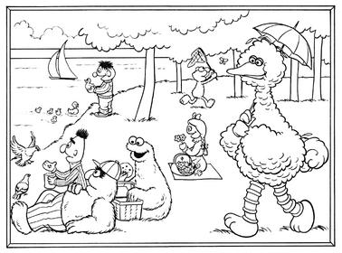 Seurat-coloringbook