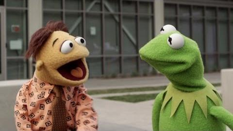 Kermit and Walter at YouTube Space L.A