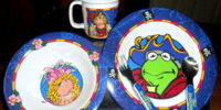 Muppet Treasure Island dinnerware