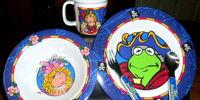 Muppet Treasure Island dinnerware