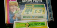 Big Bird Talking Phone