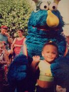 Blue Honker at Sesame Place 1980s