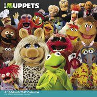The Muppets 2017 Calendar