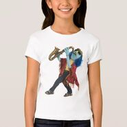 Zazzle zoot sax shirt