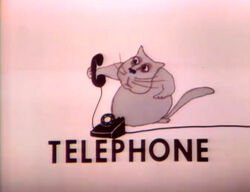 Cat.Telephone.Hubley