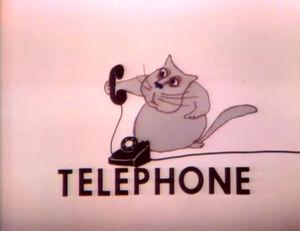 Cat.Telephone.Hubley