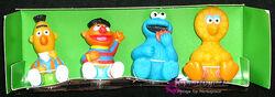 Takara japan sesame finger puppet set 2