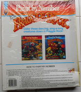 Hasbro fraggle rock paint by number 1985 2