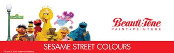 Sesame Street Colours