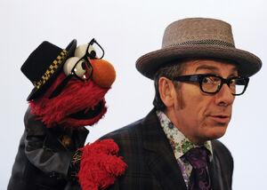 Elvis Costello Season 42 press photo