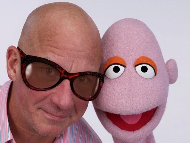 File:John and bald muppet.jpg