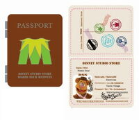 Passport pin fozzie