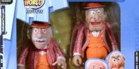 Vaudeville Statler and Waldorf Action Figures
