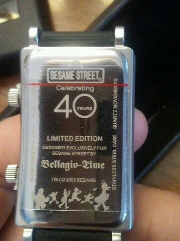 File:Bellagio time 2009 sesame 40th anniv watch 2.jpg