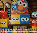 Sesame Street Big Face mugs (Universal Studios Japan)
