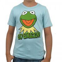 Logoshirt-Kermit-GoGreen-Kids-Shirt-lightblue