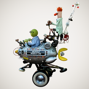 Muppet mobile lab side view cutout