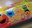 Sesame Street cup noodles (Universal Studios Japan)