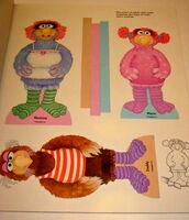 Follow that bird paper dolls 2