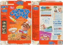 Croonchy Stars box - crazy recipes