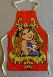 Miss piggy uk kids apron