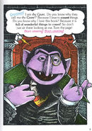 The Sesame Street 123 Storybook The Count Introduction