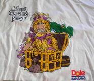 Murina 1996 dole bananas muppet treasure island mti t-shirt giveaway premium 1