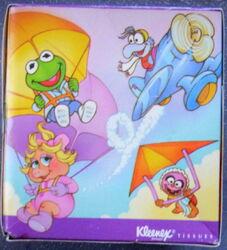 Kleenex 1988 muppet babies tissue box 3