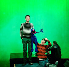 Zachary Quinto and Grover