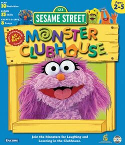 2nd cover Monsters Clubhouse