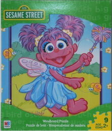 Abby cadabby woodboard puzzle