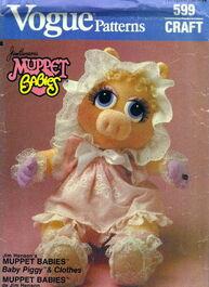 Baby piggy vogue