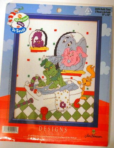 File:Designs for the needle wubbulous cross stitch bath time.jpg