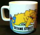 Sesame Street mugs (Crown Lynn)