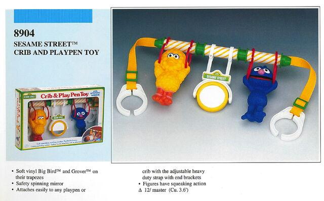 File:Illco 1989 baby toys crib & play pen toy.jpg