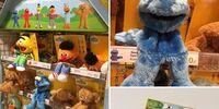 Sesamstraat puppets