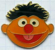 Ernie face pin