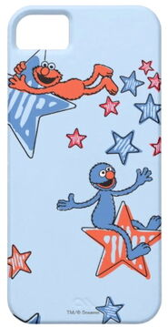Zazzle elmo and grover among the stars