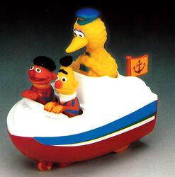 Big bird's motorboat 1