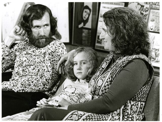 File:Center for Puppetry Arts - Opening 1978 - Jim, Heather & Jane Henson.jpg