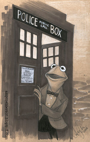 File:Amy Mebberson 11th Doctor Kermit tardis.jpg