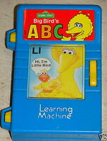 Big bird's learning machine 5