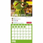 Muppet 2017 Calendar Danilo April